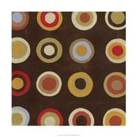 "Bullseye I by June Erica Vess - 24"" x 24"""