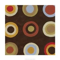 "Bullseye II by June Erica Vess - 24"" x 24"""