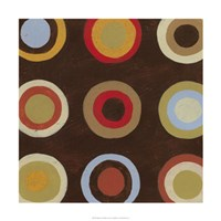 "Bullseye III by June Erica Vess - 24"" x 24"""