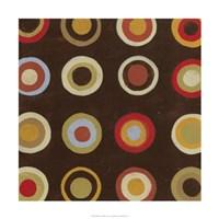 "Bullseye IV by June Erica Vess - 24"" x 24"""