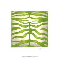 """Vibrant Zebra III by Chariklia Zarris - 16"""" x 16"""""""