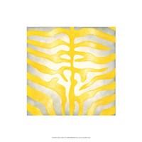 "Vibrant Zebra IV by Chariklia Zarris - 16"" x 16"""