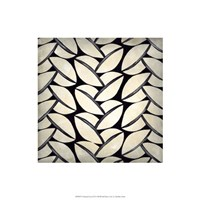 Classical Leaves II Framed Print