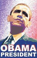 "Barack Obama - (President) Campaign Poster - 11"" x 17"""