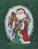 Jolly St. Nick Fine Art Print