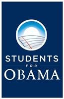 "Barack Obama - (Students for Obama) Campaign Poster - 11"" x 17"""