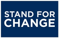 "Barack Obama - (Stand for Change) Campaign Poster - 17"" x 11"""