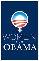 "Barack Obama - (Women for Obama) Campaign Poster - 11"" x 17"""