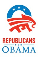 Barack Obama - (Republicans for Obama) Campaign Poster Wall Poster