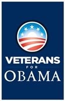 Barack Obama - (Veterans for Obama) Campaign Poster Wall Poster