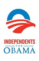 "Barack Obama - (Independents for Obama) Campaign Poster - 11"" x 17"", FulcrumGallery.com brand"