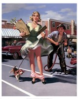 "Jackhammer by Art Frahm - 11"" x 14"""