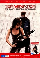 Terminator: The Sarah Connor Chronicles - Austrailian - style U Wall Poster