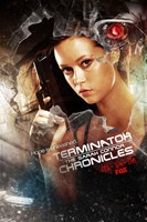 Terminator: The Sarah Connor Chronicles - style BA Framed Print