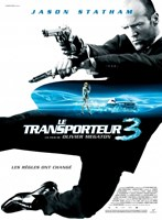 """Transporter 3 - French - style A movie poster - 11"""" x 17"""""""