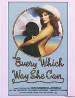 """Every Which Way She Can, 1981, 1981 - 11"""" x 17"""""""