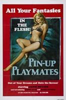 """Pin-up Playmates, 1972, 1972 - 11"""" x 17"""""""