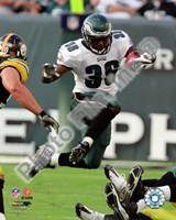 Brian Westbrook 2008 Action Fine Art Print