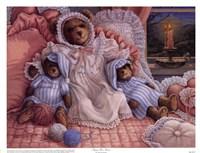 Sleepy-Time Bears Fine Art Print