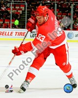 Johan Franzen 2008-09 Home Action Fine Art Print