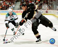 Ryan Getzlaf 2008-09 Home Action Fine Art Print