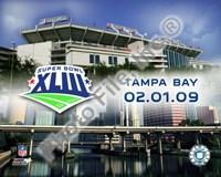 """Raymond James Stadium SuperBowl XLIII 2009 - 10"""" x 8"""""""