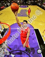 Yao Ming 2008-09 Action Fine Art Print