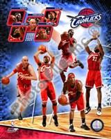 "2008-09 Cleveland Cavaliers Team Composite, 2008 - 8"" x 10"""