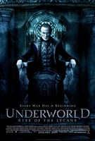 """Underworld 3: Rise of the Lycans - style B, 2009, 2009 - 11"""" x 17"""""""