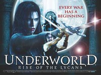 """Underworld 3: Rise of the Lycans - style C, 2009, 2009 - 17"""" x 11"""""""