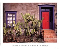 The Red Door Fine Art Print