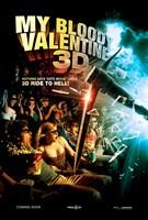 "My Bloody Valentine 3-D - style B, 2009, 2009 - 11"" x 17"""