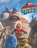 Monsters vs. Aliens, c.2009 style A Wall Poster