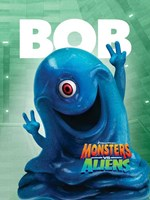 Monsters vs. Aliens, c.2009 - style I Wall Poster