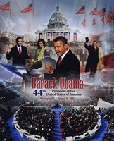 2009 Barack Obama Inaugural Portrait Plus Fine Art Print