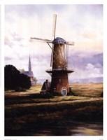 """Francis Mastrangelo - Breeze Over Zeeland by Dona Gelsinger - 13"""" x 17"""""""