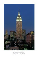 """Empire State Building, N.Y. by Kamran Shaukat - 24"""" x 36"""""""