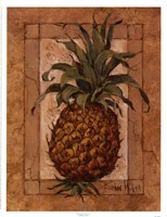 "Pineapple Pizzazz by Barbara Mock - 13"" x 17"""