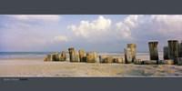 """West Beach, Florida - 39"""" x 20"""", FulcrumGallery.com brand"""