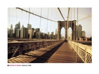 "Brooklyn Bridge - 32"" x 24"""