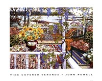 Vine Covered Veranda Fine Art Print