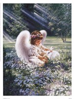 """An Angel's Care by Dona Gelsinger - 13"""" x 17"""""""