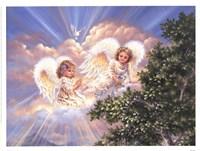 """Joyful Prayer by Dona Gelsinger - 17"""" x 13"""""""
