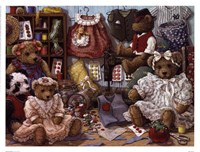 Teddy Bear Wear Fine Art Print