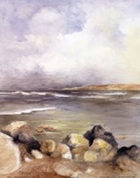 "Along the Coast of Sardinia I by Lanie Loreth - 11"" x 14"""