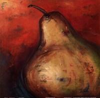 "Pear Square II by Patricia Pinto - 12"" x 12"", FulcrumGallery.com brand"