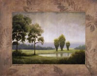 """Green Land I by Michael Marcon - 28"""" x 22"""""""