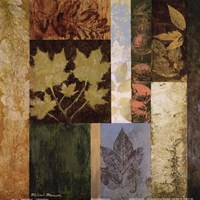 August Leaves II Framed Print
