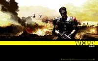 "The Watchmen - style AC - 17"" x 11"""