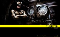 """The Watchmen - style AD - 17"""" x 11"""""""
